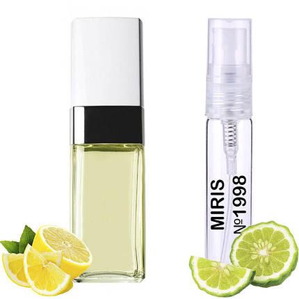 Пробник Духов MIRIS №1998 (аромат похож на Chanel Cristalle Eau Verte) Женский 3 ml, фото 2