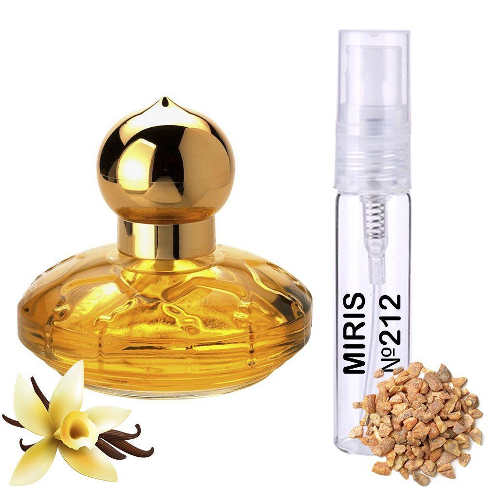 Пробник Духов MIRIS №212 (аромат похож на Chopard Casmir) Женский 3 ml
