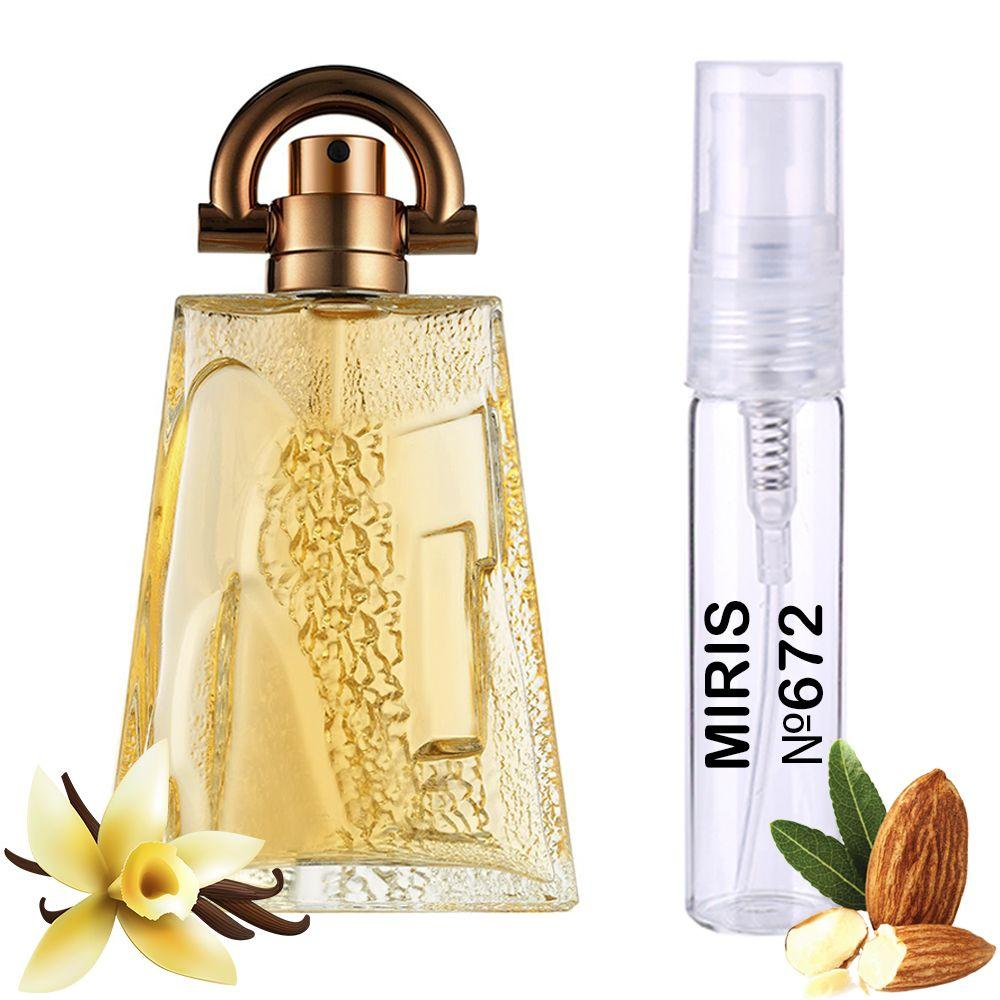 Пробник Духов MIRIS №672 (аромат похож на Givenchy Pi) Мужской 3 ml