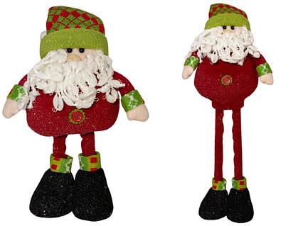 Дед Мороз с выдвижными ногами, 0.5м (000982-1)