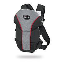 Эрго рюкзак-кенгуру для детей Chicco Ultrasoft Черный от 0 месяцев - лицом к родителям, от 4 месяцев - лицом вперед слинг шарф переноска для