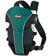 Эрго рюкзак-кенгуру для детей Chicco Ultrasoft для новорожденных Зеленый слинг шарф переноска