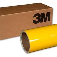 Ярко желтая глянцевая пленка 3M 1080 Gloss Bright Yellow