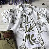 Летний джинсовый костюм на мальчика 160. Размер 80 см, 86 см, 92 см, 98 см, фото 2