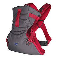 Эрго рюкзак-кенгуру для детей Chicco Easy Fit Красный слинг шарф переноска для новорожденных