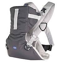 Эрго рюкзак-кенгуру для девочек Chicco Easy Fit Серый слинг шарф переноска для новорожденных