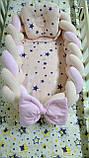 Кокон – гніздечко коса-позиціонер для немовлят Тм Миля, фото 2