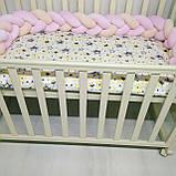Кокон – гніздечко коса-позиціонер для немовлят Тм Миля, фото 3