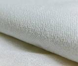 Пелюшка непромокаємий М'ятні баранці на білому 70 х 80 см Тм Миля(0548), фото 2