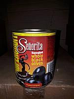 Маслины с косточкой крупные 110/130 Senorita, 875 г