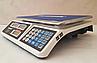 Рыночные электронные торговые весы со счетчиком цены на 50кг ALFASONIC AS-A072 . Ровная платформа, фото 5