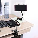 Універсальний гнучкий тримач для телефону на прищіпці HOLDER support LRZJ LR 01, фото 5