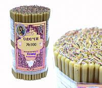 Свечи восковые, номерные (№100) (1 кг.)