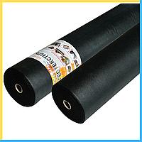 Геотекстиль черный (150 г/м²) 1.6*50, фото 1