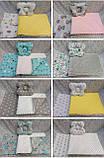 Набор в детскую кроватку ( коляску) Манюня, фото 3