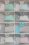 Набор в детскую кроватку ( коляску) Манюня, фото 4