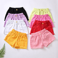 Джинсові шорти для дівчаток / Джинсовые шорты для девочек, детские шорты модные, летние шорты детские