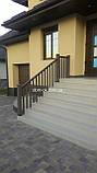 Декоративные ограждения из ДПК Holzdorf Kantry Поперечина, фото 3
