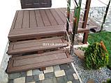 Декоративные ограждения из ДПК Holzdorf Kantry Поперечина, фото 4