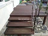 Декоративные ограждения из ДПК Holzdorf Kantry Поперечина, фото 5