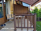 Декоративные ограждения из ДПК Holzdorf Kantry Поперечина, фото 6