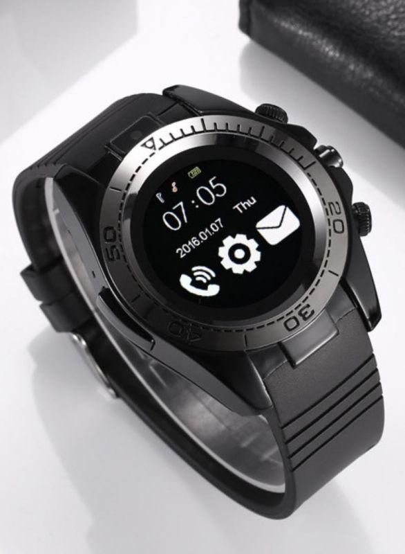Часы Smart Watch SW007 (Sim карта, Micro SD, секундомер, антивор, микрофон G-sensor, bluetooh) black