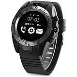Часы Smart Watch SW007 (Sim карта, Micro SD, секундомер, антивор, микрофон G-sensor, bluetooh) black, фото 2