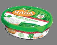 Мягкий сливочный сыр с зеленью Rasa 62% 180 гр