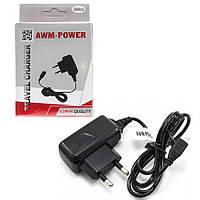 Сетевое зарядное устройство AWM  с microUSB