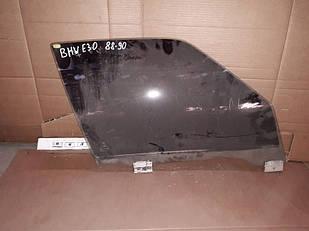 №63 Б/у Стекло передней правой двери для  BMW E30 1988-1990