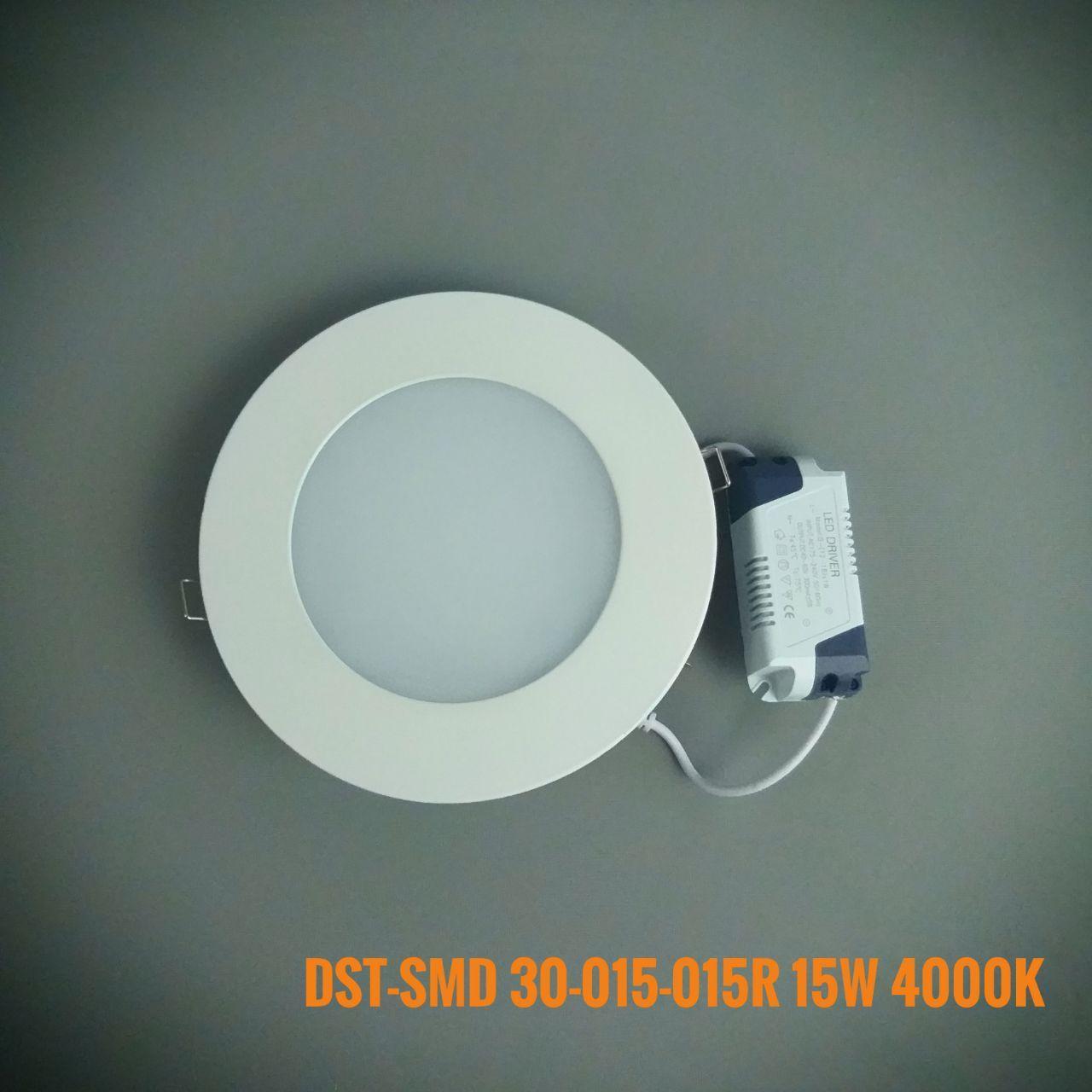 Світлодіодна панель коло врізний M DST-SMD30/015/015R 4000K 850DS 15W