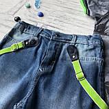 Летний джинсовый костюм на мальчика 180. Размер 74 см, 80 см, 86 см, 92 см, фото 3