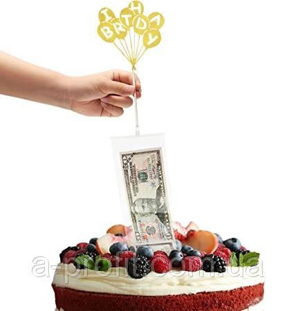 """Креативный сюрприз-подарок """"Торт-банкомат"""""""