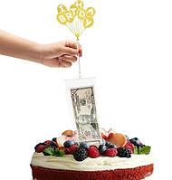 "Креативный сюрприз-подарок ""Торт-банкомат"", фото 1"