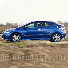 Молдинги на двері для Honda Civic Mk8 3Dr H/B 2006-2011