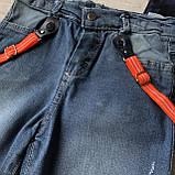 Летний джинсовый  костюм на мальчика 183. Размер 4 года, 5 лет, 6 лет, 7 лет, фото 2