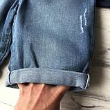 Летний джинсовый  костюм на мальчика 183. Размер 4 года, 5 лет, 6 лет, 7 лет, фото 3