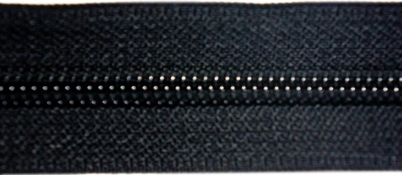 Молния лента (метражка)  №7 (10), цвет черн.