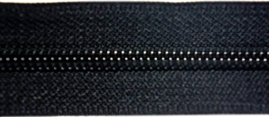 Молния лента (метражка)  №7 (10), цвет черн., фото 2
