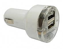 Зарядное устройство автомобильное CarCommerce 2 USB 12/24V 42018