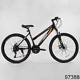 Велосипед спортивний гірський Corso Strong Steel 26 дюймів, фото 2