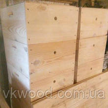 Вулик трьохкорпусний  12 рамок  (300 мм) Улей трёхкорпусный 12-ти рамочный (300 мм)