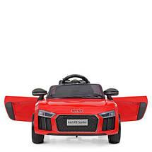 Детский электромобиль красный Bambi M 4281EBLR-3 2 аккумулятора, фото 3