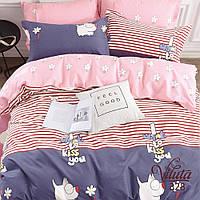 Подростковый Комплект постельного белья Viluta Сатин Твил 328