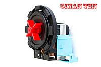 Насос/помпа PLASET 30W / 220V /крепление на 8 защелок (контакты сзади раздельно) для стиральной машины Италия