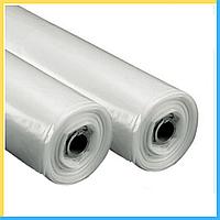 Пленка белая 80 мкм (3м*100 м.) прозрачная, полиэтиленовая, фото 1