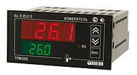 Измеритель двухканальный с RS-485 ОВЕН ТРМ200