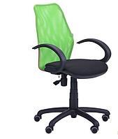 Кресло компьютерное- Oxi/АМФ-5 сиденье А-01/спинка Сетка салатовая