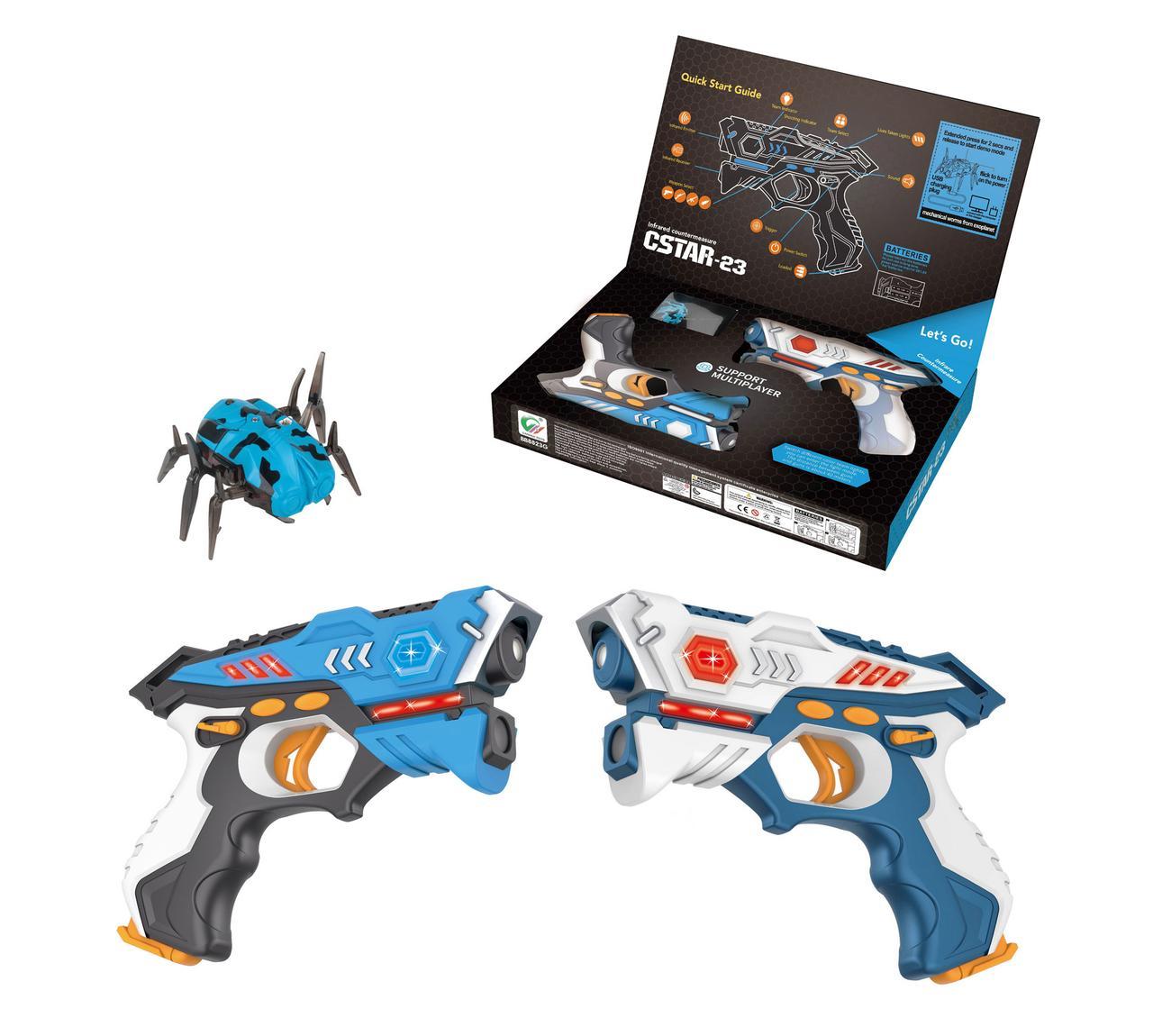 Пистолеты инфракрасные с жуком