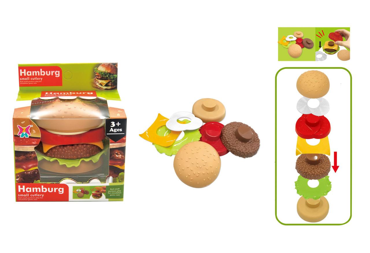 Гамбургер-пирамидка